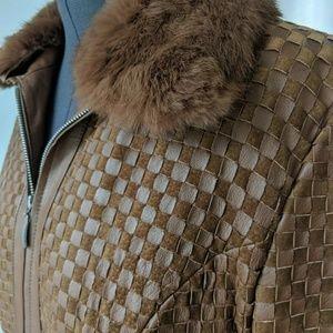 Marvin Richards Jackets & Coats - Marvin Richards Leather Jacket Sz L